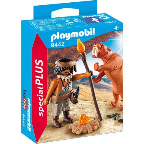 Playmobil 9442 Ősember kardfogú tigrissel