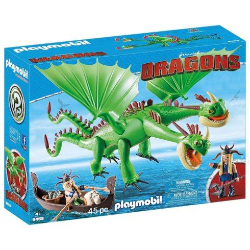 Playmobil 9458 Kőfej és Fafej Töffel és Böffel