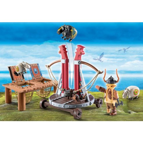 Playmobil 9461 Bélhangos báránycsúzlival