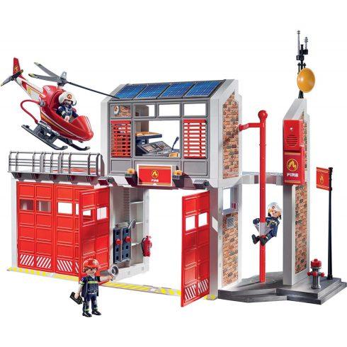 Playmobil 9462 Tűzoltóság helikopterrel