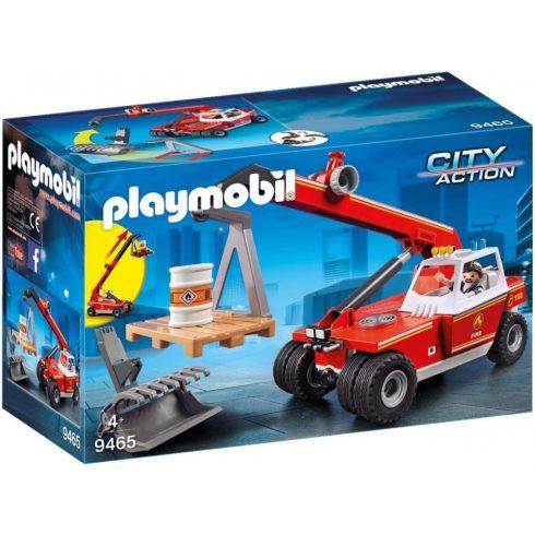 Playmobil 9465 Tűzoltósági daruskocsi