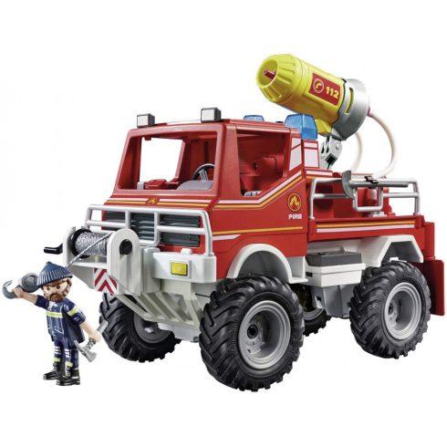 Playmobil 9466 Tűzoltóautó fecskendővel