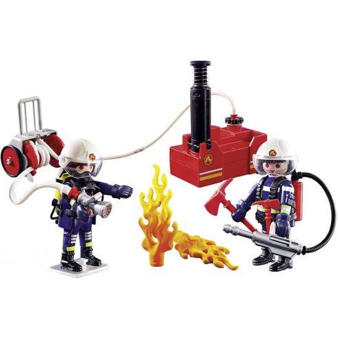 Playmobil 9468 Tűzoltók szivattyúval