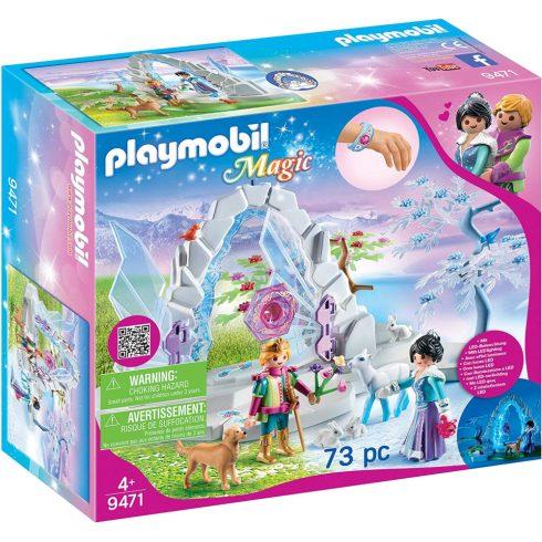 Playmobil 9471 Kristálykapu a téli világba