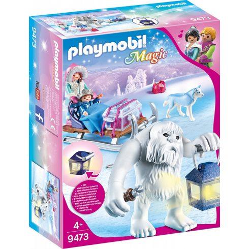 Playmobil 9473 Jeti húzta szánkó