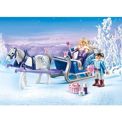 Playmobil 9474 A királyi pár téli szánja