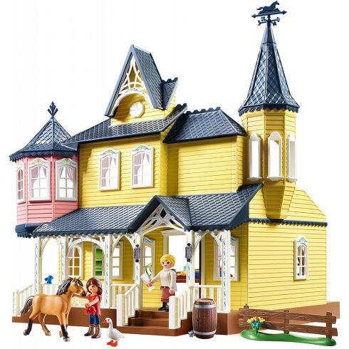 Playmobil 9475 Spirit - Lucky boldog otthona