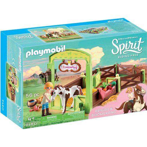 Playmobil 9480 Abigail & Boomerang