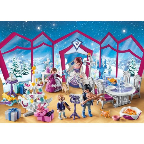 Playmobil 9485 Adventi Kalendárium - Karácsonyi bál a palotában