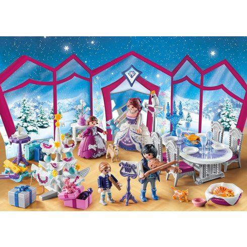 Playmobil 9485 Karácsony - Adventi kalendárium, naptár - Karácsonyi bál a palotában