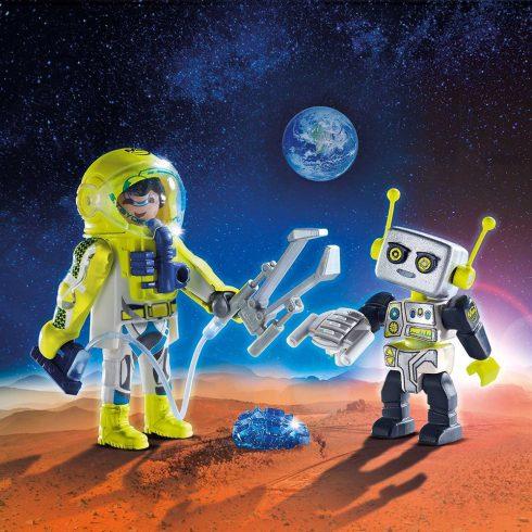 Playmobil 9492 Űrhajós és robot