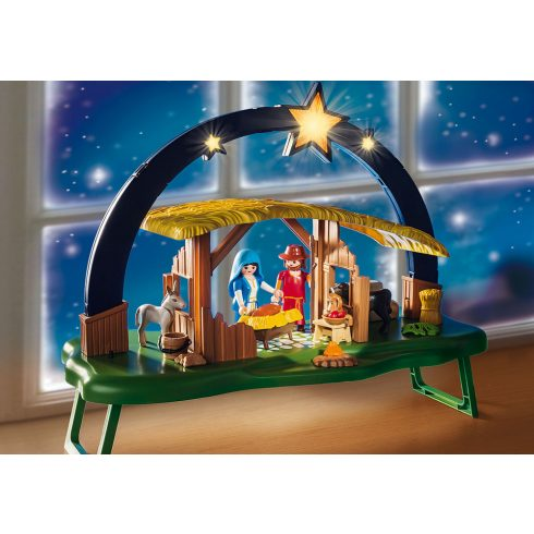 Playmobil 9494 Karácsony - Betlehemi világító jászol