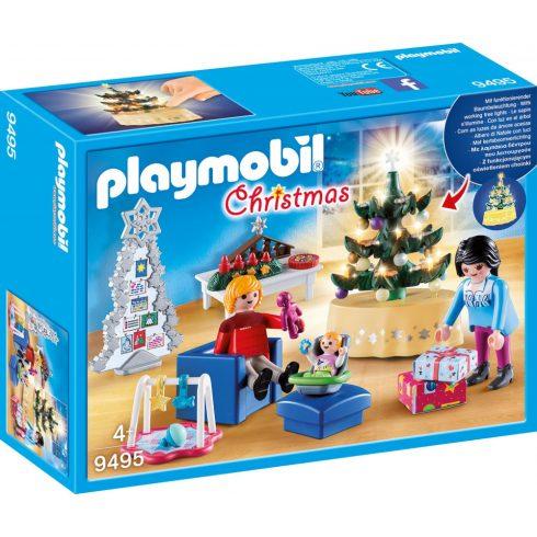 Playmobil 9495 Karácsony - Karácsonyi nappali