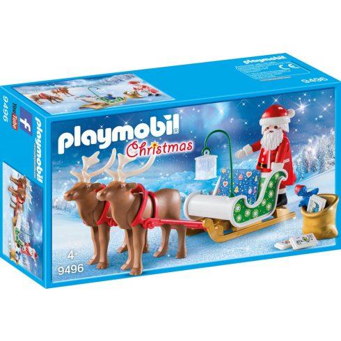 Playmobil 9496 Karácsony - Télapó rénszarvas szánja