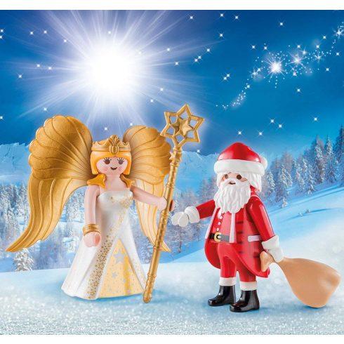 Playmobil 9498 Karácsony - Télapó és angyal