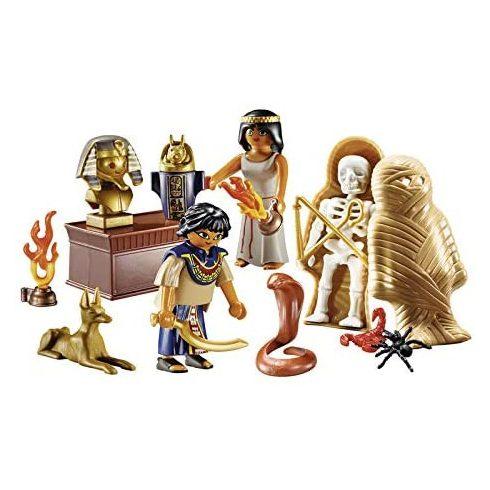 Playmobil 9542 Hordozható rejtélyes Egyiptom szett