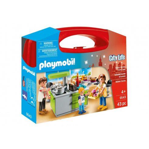 Playmobil 9543 Hordozható családi konyha szett