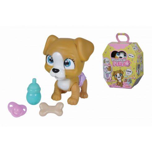 Simba Toys Pamper Petz - Pisilő kiskutya pelenkában (105953050)