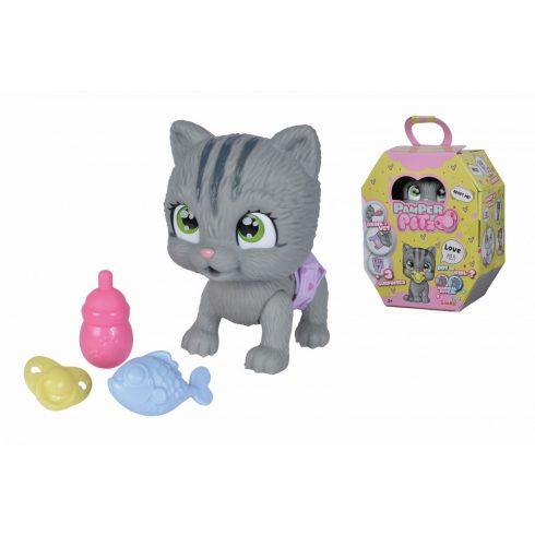 Simba Toys Pamper Petz - Pisilő kiscica pelenkában (105953051)