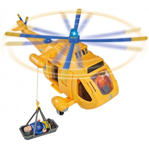 Simba Toys Sam, a tűzoltó - Wallaby 2 mentőhelikopter Tom figurával (109251002038)