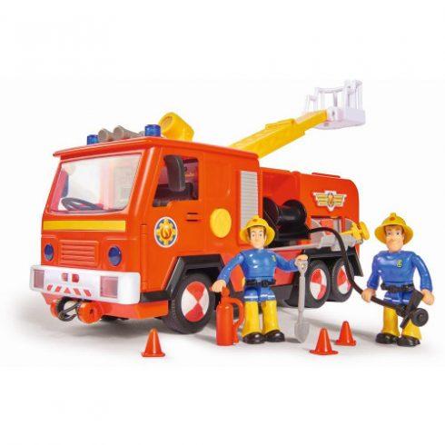 Simba Toys Sam, a tűzoltó - Jupiter 2.0 tűzoltóautó Sam és Elvis figurákkal (109251036038)