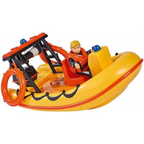 Simba Toys Sam, a tűzoltó - Neptune mentőcsónak Penny Morris figurával (109251047038)