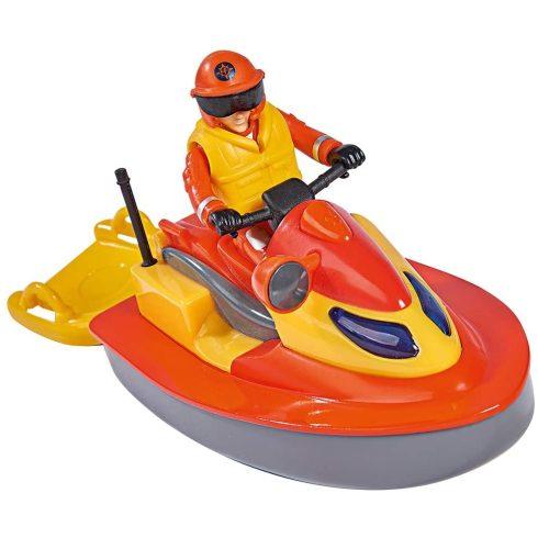 Simba Toys Sam, a tűzoltó - Juno mentő jet-ski Elvis figurával (109251048038)