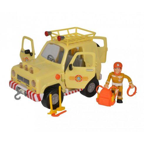 Simba Toys Sam, a tűzoltó - Tom 4x4 terepjárója Sam figurával (109251072038)