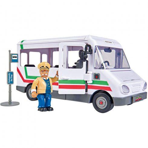 Simba Toys Sam, a tűzoltó - Busz Trevor figurával (109251073038)