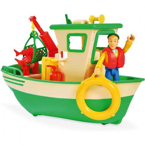 Simba Toys Sam, a tűzoltó - Halászhajó Charlie figurával (109251074038)