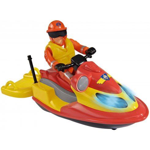 Simba Toys Sam, a tűzoltó - Juno mentő jet-ski fénnyel és Elvis figurával (109251662038)