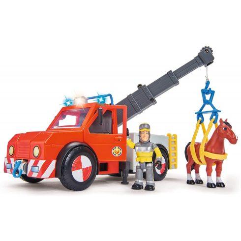 Simba Toys Sam, a tűzoltó - Phoenix állatmentő autó Sam figurával (109258280038)