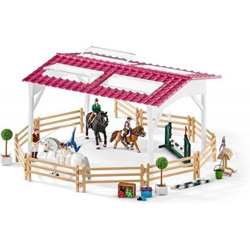 Schleich 42389 Lovasiskola lovakkal és lovasokkal