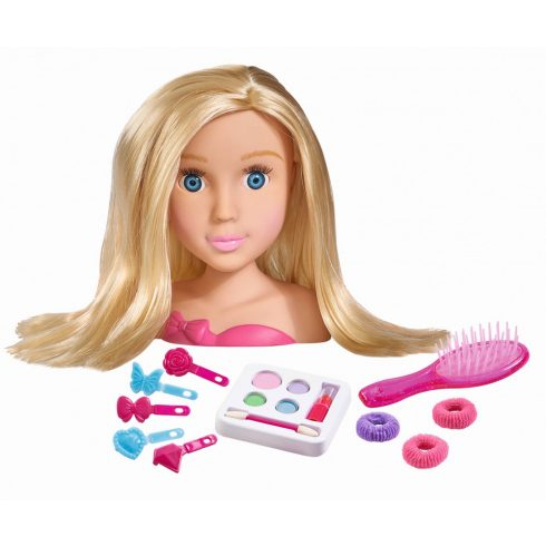 Simba Toys My Girl - Kozmetikai babafej (105560029)