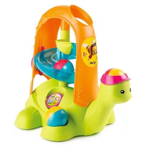 Smoby Cotoons 110414 Teknős babajáték labdákkal