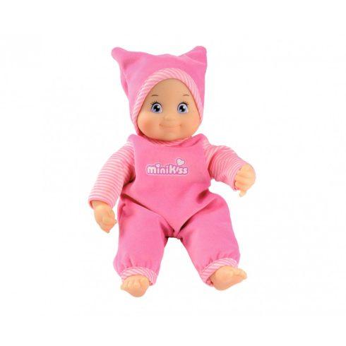 Smoby 210102 Minikiss, a puszit adó játékbaba 27cm - rózsaszín