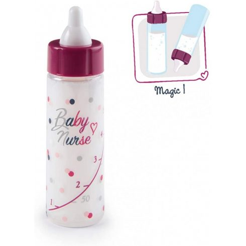 Smoby 220325 Baby Nurse mágikus cumisüveg játékbabáknak