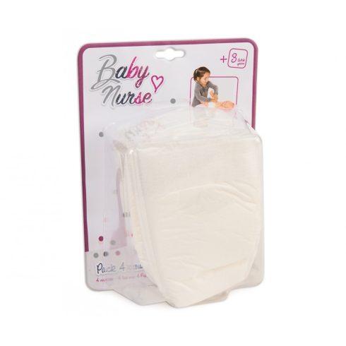 Smoby 220339 Baby Nurse 4db-os pelenkaszett játékbabáknak