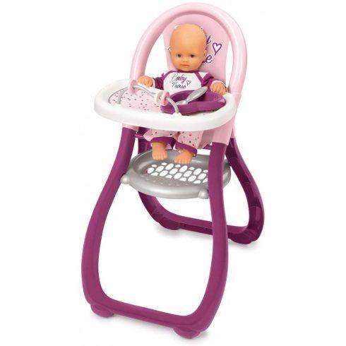 Smoby 220342 Baby Nurse etetőszék játékbabáknak