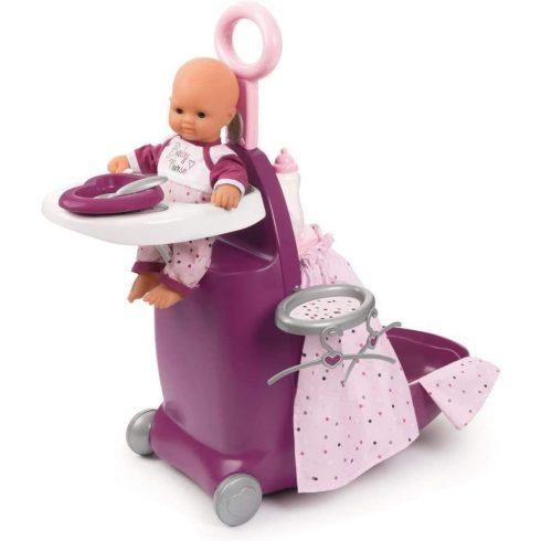Smoby 220346 Baby Nurse 3 az 1-ben babacenter játékbabáknak