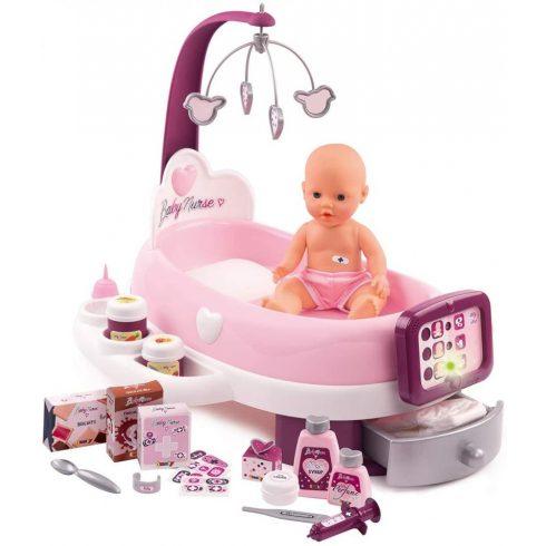 Smoby 220347 Baby Nurse elektronikus babacenter játékbabával