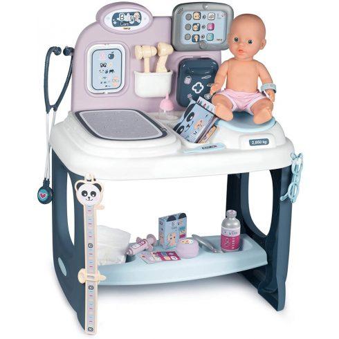 Smoby 240300 Baby Care orvosi babacenter játékbabával