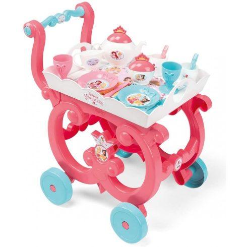 Smoby 310572 Disney Princess hercegnős zsúrkocsi teáskészlettel