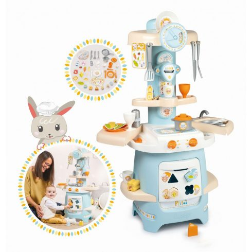 Smoby 310717 Ptitoo készségfejlesztő játékkonyha babáknak