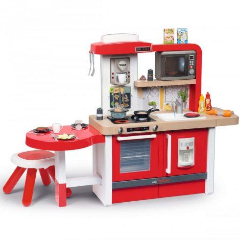 Smoby 312302 Tefal Evolutive Gourmet játékkonyha 43db kiegészítővel és mikrohullámú sütővel