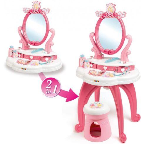 Smoby 320222 Disney Princess hercegnős pipereasztal székkel
