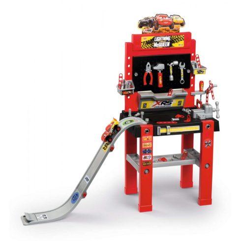 Smoby 360722 Verdák Bricolo Center játék szerelőasztal ugratóval és 94db kiegészítővel