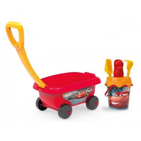 Smoby 867000 Verdák homokozó szett kiskocsival