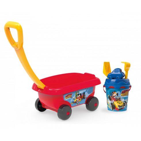 Smoby 867003 Mickey homokozó szett kiskocsival