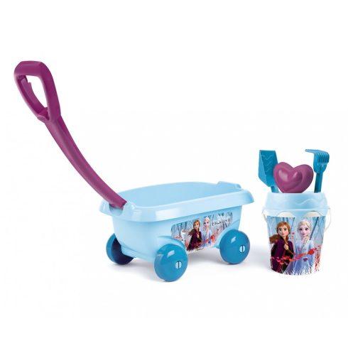 Smoby 867012 Jégvarázs homokozó szett kiskocsival